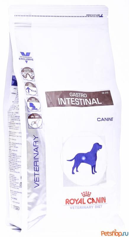 Корм royal canin роял канин gastro intestinal